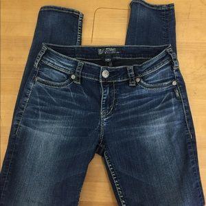 Silver Super skinny Jeans 👖 041905
